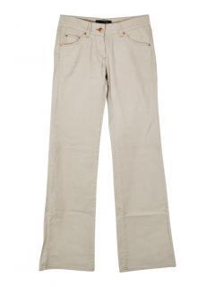 Isabel Marant Ray wide leg corduroy trousers