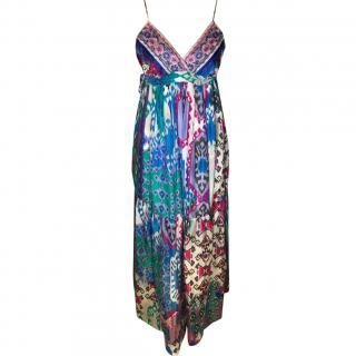 Gerald Drew Maxi Silk Dress
