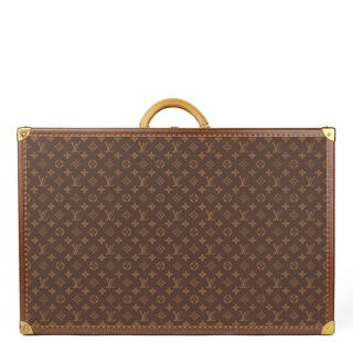 Louis Vuitton Brown Monogram Coated Canvas Suitcase
