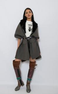 Prada Patchwork Over-The-Knee Boots - Current