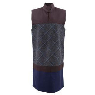 Victoria Beckham Wool Shift Dress