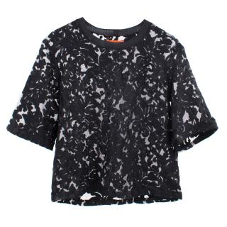 Clover Canyon Black Lace Top