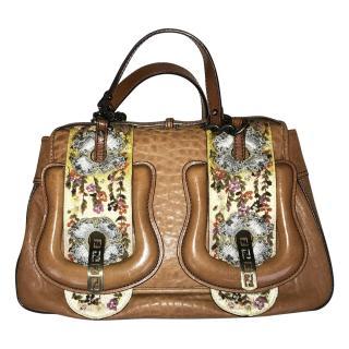 Fendi Calfskin Hand Bag