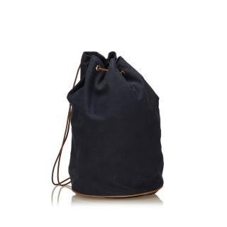 Hermes Canvas Polochon Mimile Bag