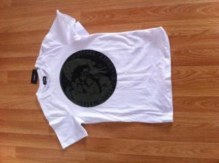 DIESEL WHITE T-SHIRT FOR 12YR BOY