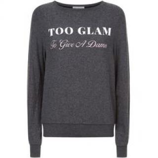 WildFox Sweatshirt Too Glam Sweatshirt