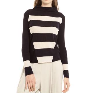 New Max Mara knit jumper mixed wool