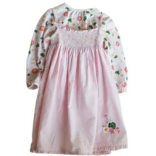 Christian Dior Baby girl dress set 2 years