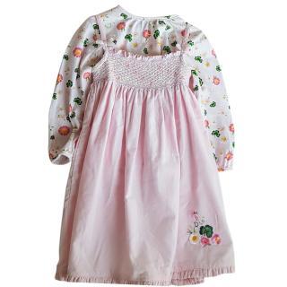 Christian Dior Baby girl dress set 2 years