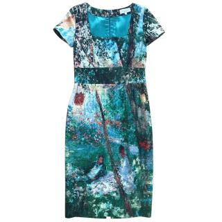 Paul & Joe Printed fitted dress