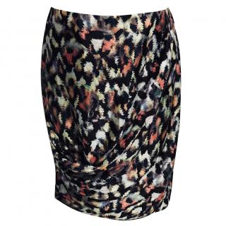 Emporio Armani Floral Skirt