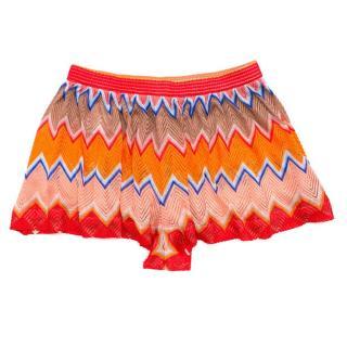 Missoni Mare Crochet Wave Shorts