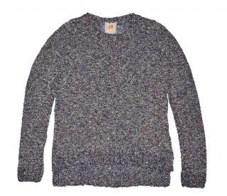 women's cotton asymmetric sweater