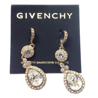 Givenchy Swarovski GP Earrings