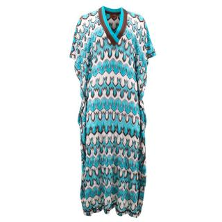 Missoni Blue Patterned Blue Dress