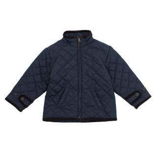 16e1e016 Polo Ralph Lauren Baby Boy Navy Quilted Jacket