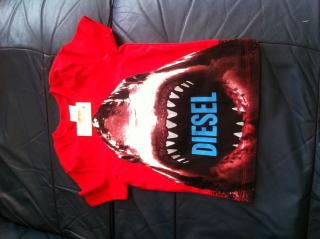 RED DIESEL T-SHIRT FOR 2 - 3 YR BOY