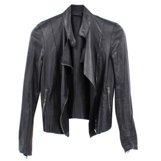 Joseph Alpha Leather Biker Jacket