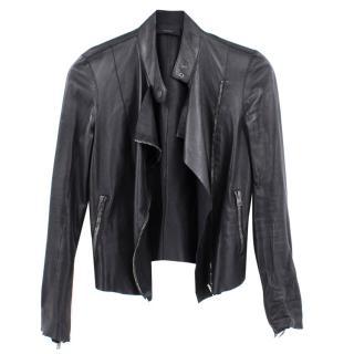 Joseph Alpha Leather Biker Jacket