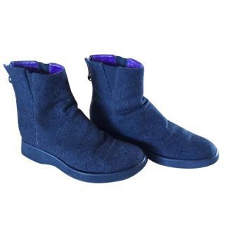 Ralph Lauren wool boots