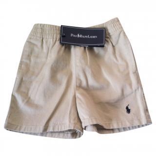 RALPH LAUREN Boys Beige Shorts