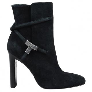 Tom Ford Black Suede