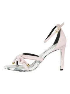 Balenciaga pink high heel sandals