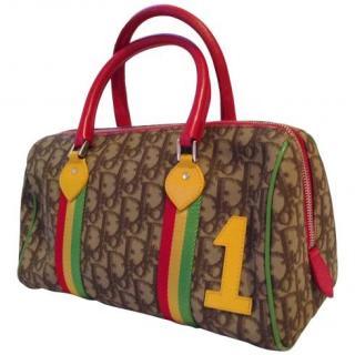 Christian Dior Rasta Tote Bag