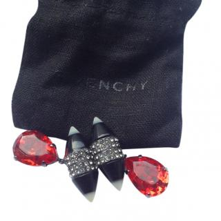 Givenchy Magnetic Crystal Earrings
