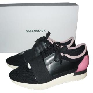 Balenciaga Race Runners Black/Pink