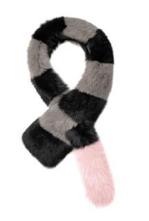 Charlotte Simone faux fur big daddy scarf