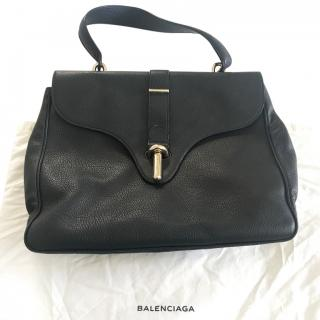 Balenziaga black top handle/shoulder bag