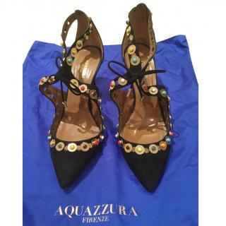 Aquazzura embellished Byzantine heeled pumps