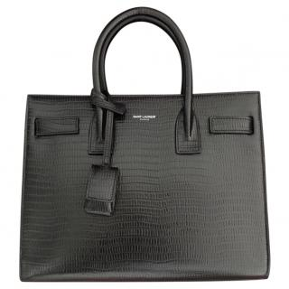 Saint Laurent Limited Edition Lizard Print Bag