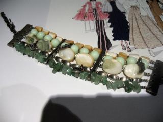 Dyrberg/Kern bracelet with jade