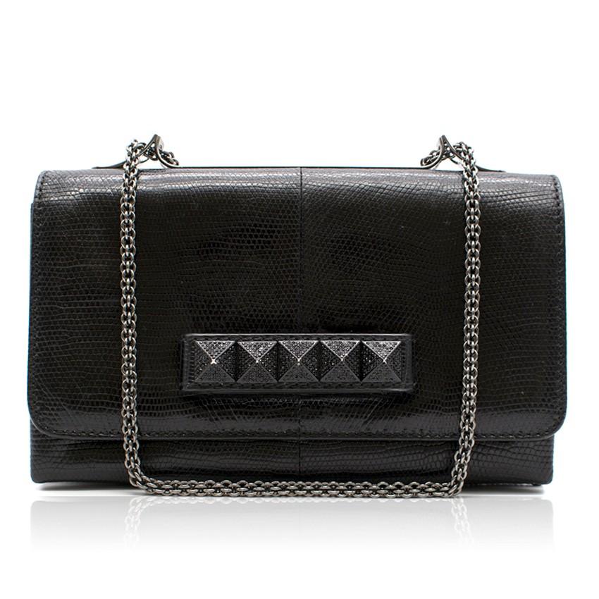 Valentino Black Evening Bag