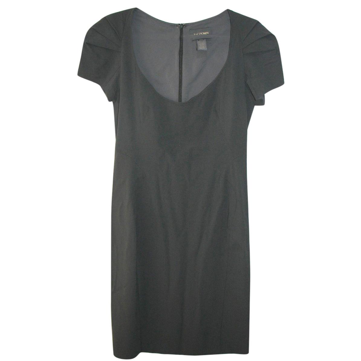 Zac Posen fitted grey dress