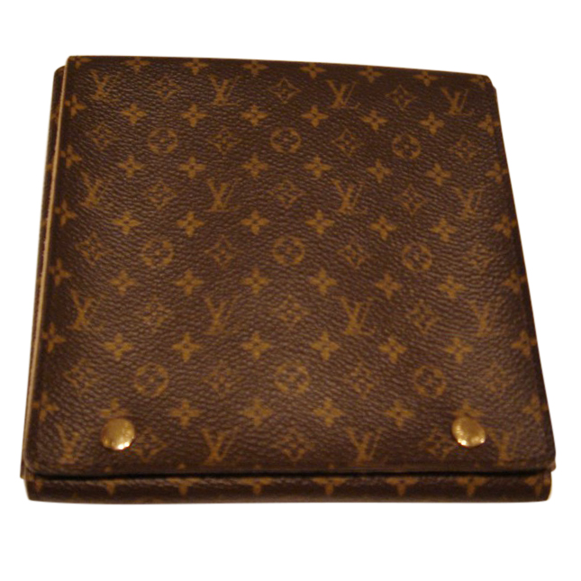 LOUIS VUITTON Monogram Folding Jewelry Case