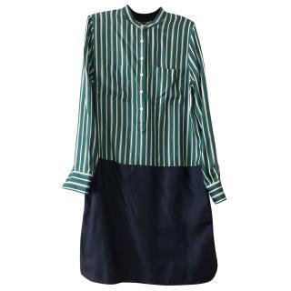 Faconnable Silk Shirt Dress