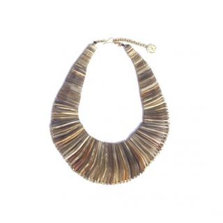 Soko Laura Segal Stacked Horn Necklace