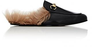 Gucci Princetown Shearling Loafers