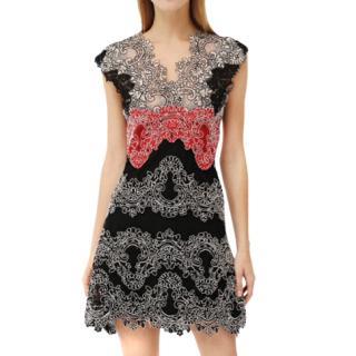 Sandro lace mini dress
