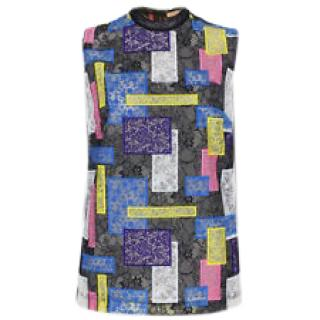 Christopher Kane Patchwork lace top