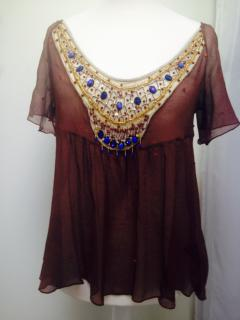 Antik Batik Silk Top