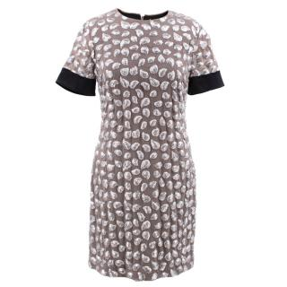 Diane Von Furstenberg Cindy Puffy Sequin Dress