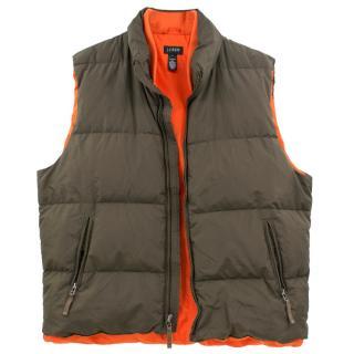 J.Crew Green Vest Jacket