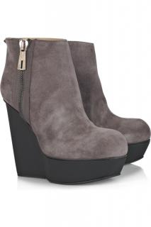 Acne Wedge Boots