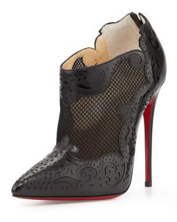 Christian Louboutin Mandolina leather ankle boots