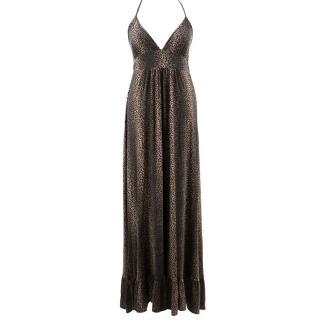 Melissa Odabash Animal Print Maxi Dress