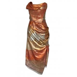 Vivienne Westwood sequinned corset dress